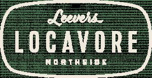 Leevers Locavore Tan Logo