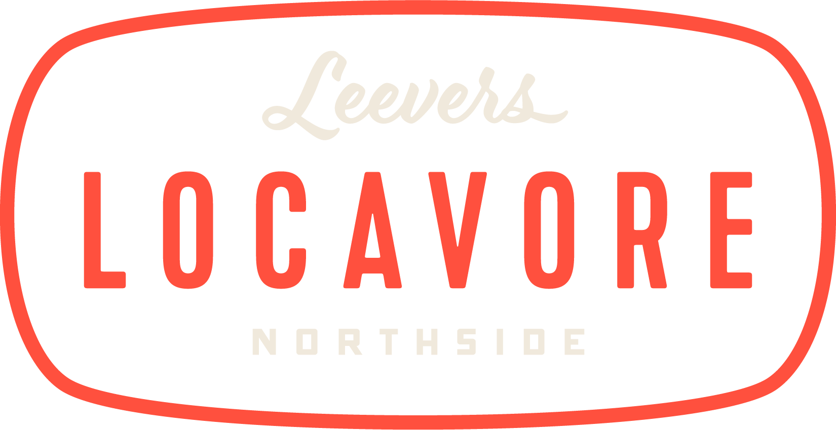 Leevers Locavore Red Logo